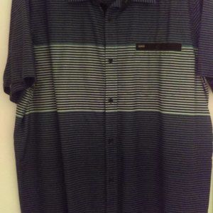Hurley Button Front Shirt